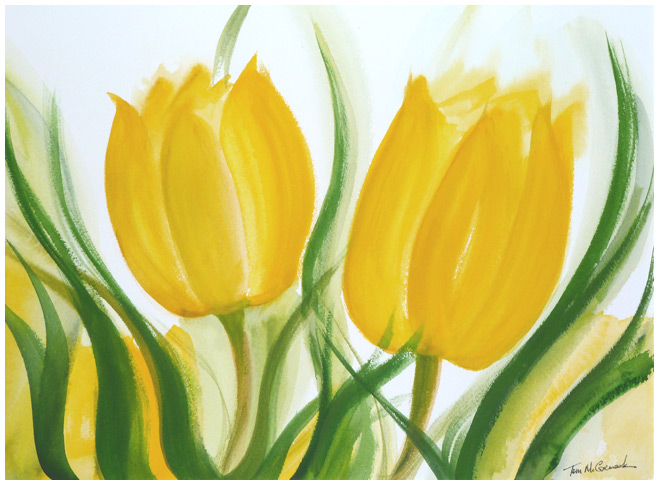 Yellow Tulips :: Flowers